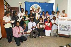 US Embassy launches reading campaign
