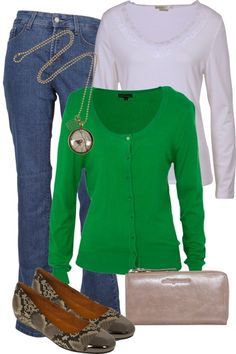 Emerald Fair Outfit includes Not Your Daughters Jeans, Howard Showers, and Birdsnest Hand Picked at Birdsnest