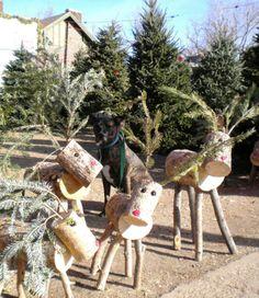 Log Reindeers