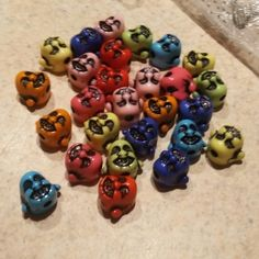 Buddha beads - for jewelry/crafts lot of 25