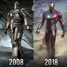 What a transformation brings back so many memories Im gonna miss Robert Downey Jr. Heroes Dc Comics, Marvel Dc Comics, Marvel Heroes, Captain Marvel, Marvel Avengers, Iron Man Movie, Iron Man Armor, Amazing Spiderman, Geek Culture
