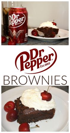 I'm a Dr Pepper fanatic and ever since I discovered this Dr Pepper Brownies recipe, well, I just can't stop making and eating them! They are delicious!