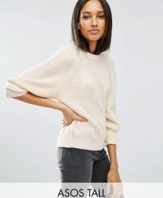 Discover the latest fashion & trends in menswear & womenswear at ASOS. Shop our collection of clothes, accessories, beauty & Latest Fashion Clothes, Latest Fashion Trends, Fashion Online, Jumpers For Women, Cardigans For Women, Casual Wear Women, Women's Casual, Tall Clothing, Cream Sweater