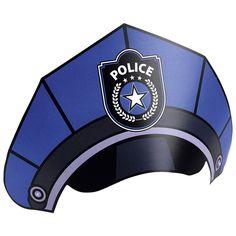 Party-Hütchen Polizei im Einsatz, 8 Stück