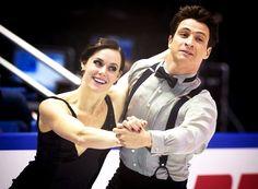 Skate Canada 2013 Tessa Virtue & Scott Moir - 1st place after SD [x]