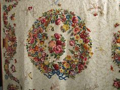 Beautiful applique and quilting with trapunto.  2011 Quilt Market.  Photo by Jackie-Quilts!, via Flickr