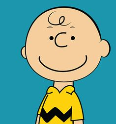 just noticed how stylish charlie brown was in his chevron print t-shirt ... cute