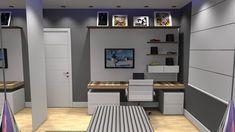 quartos planejados para meninos - Pesquisa Google