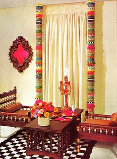 1001 Decorating Ideas 1971 C By Threadbare