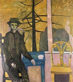 Waiting, Kai Fjell Modern Art, Contemporary, Global Art, Art Market, Norway, Kai, Scandinavian, Waiting, Illustration Art