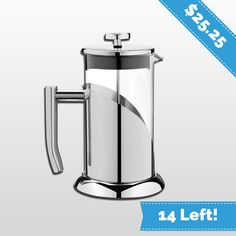 Amazon Holiday Special: Save 60% on Our ANGELICA French Press. Use Amazon Coupon Code: INSTANT2