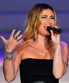 Idina Menzel Songs - Broadway Shows, Best Performances | A look at Idina Menzel's best performances, to celebrate her 45th birthday. #refinery29 http://www.refinery29.com/2016/05/111724/idina-menzel-songs-live-performances-video