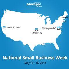 National Small Business Week, Buy Stamps, Washington Dc, Kansas City, Prints, Stuff To Buy, Printmaking