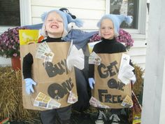Halloween Ideas for Twins and Triplets