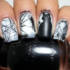 halloween  by _lovely_nails_ #nail #nails #nailart