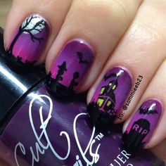 Set vintage manicure