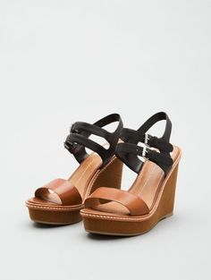 The Look 4 Less: Chloe Groove Wedges