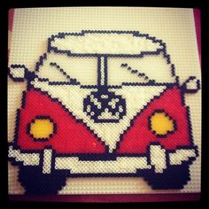 Furgoneta T1 Volkswagen hama beads by Anna Mimó Font