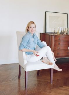 """EXCLUSIVE SwedenWithLove.com: Kelly Rutherford opens up about her love for her kids, how bankruptcy was """"a gift"""" and her fight to stay happy. Photograph by Elizabeth Messina."""