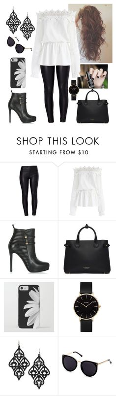"""""""I tried to be normal once.Worst two minutes of my life."""" by paoladouka on Polyvore featuring Venus, Chicwish, Burberry and CLUSE"""