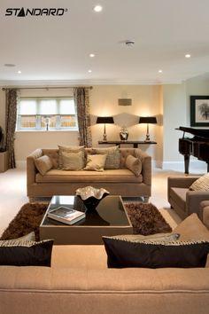 27 meilleures images du tableau clairage s jour salon en. Black Bedroom Furniture Sets. Home Design Ideas