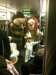 Where The Wild Things Are vkia awesomeinventions. Image source unknown. #Halloween #DIY #Kids