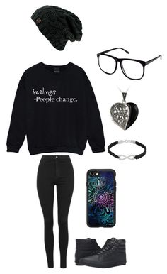 """Untitled #135"" by darksoul7 ❤ liked on Polyvore featuring Topshop, Vans, Glitzy Rocks, NOVICA, H&M and Casetify"