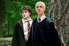 """The novella, which Rowell has never published online, focuses on Harry and Draco, or """"Drarry"""", a popular romantic pairing in Harry Potter fan fiction."""