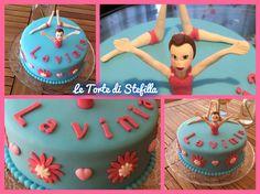torta nuoto sincronizzato ♡ synchro swimming cake ♡