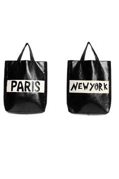 a market tote with my favorite cities on it....tres chic!