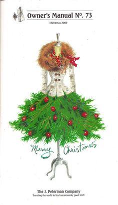 Dress Form Christmas Tree, Noel Christmas, Vintage Christmas Cards, Christmas Pictures, Christmas Greetings, All Things Christmas, Christmas Crafts, Christmas Decorations, Xmas