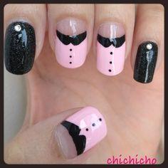 Video: Pink Blouse Nails Tutorial | chichicho~ nail art addicts