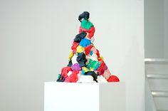 Dan Rees  'If It Looks Like It And Feels Like It', 2009  Plasticine and plinthe  38 x 30 x 30 cm