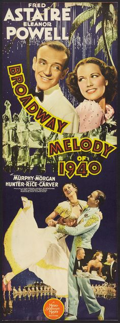 """Fred Astaire & Eleanor Powell In """"Broadway Melody Of 1940"""""""