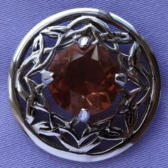 Vintage ST JUSTIN CORNWALL Celtic AMBER Stone Pewter Brooch | Brooches,  Pewter And It Is