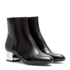 Dries Van Noten - Leather ankle boots - mytheresa.com GmbH