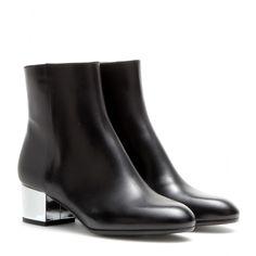 Dries Van Noten - Leather ankle boots - mytheresa.com GmbH