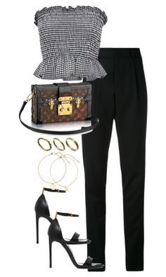 """Untitled #4550"" by theeuropeancloset ❤ liked on Polyvore featuring Yves Saint Laurent, Tom Ford and Made"
