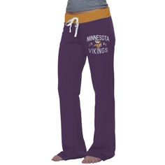 '47 Brand Minnesota Vikings Ladies Power Stretch Pants - Purple