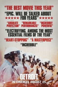 Mega Sized Movie Poster Image for Detroit (#4 of 12)