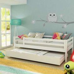 Decor: Quartos de criança com cama auxiliar!