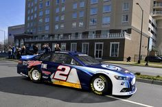 Brad Keselowski and the @Ford Racing team take over Uptown Charlotte.