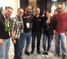 Con la gran @yizettecifredo quien nos dió un bofetón de #gaming. Súper accesible! Dice presente la familia de @gamestop #puertorico #Navitech