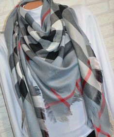 64693b58f Burberry Scarf Poncho  fashion  clothing  shoes  accessories   womensaccessories  scarveswraps (