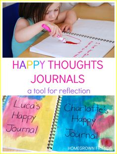 happy thoughts journal for kids