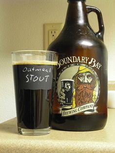 Heavy Dark Beer. BELLINGHAM, WA.