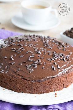 So ein Kaffee-Schoko-Kuchen ist eine herrliche Kombination: Dieser saftige Schokoladenkuchen mit Kaffee ist wunderbar aromatisch und köstlich. Wer Mokka mag, wird den Schoko-Espressokuchen lieben! #kaffeekuchen #schokokuchen #espressokuchen #kuchen #backenmachtgluecklich (Beitrag enthält Werbung für #nettomarkendiscount )