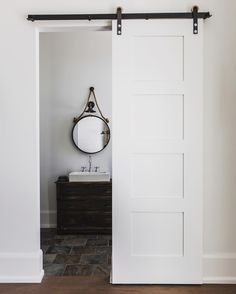 That added touch to make your house your home! Barn Doors, Contemporary, Modern, Tall Cabinet Storage, Touch, Interior Design, Bathroom, Inspiration, Furniture