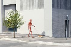 Human After All, a collaboration between artists Jan Kriwol and Markos R. Kay, juxtaposes CGI recreations of the human circulatory system with images of urban landscapes