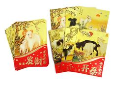 DISCOUNT 38 bulk variety pack Chinese red packet by 2FooDogs